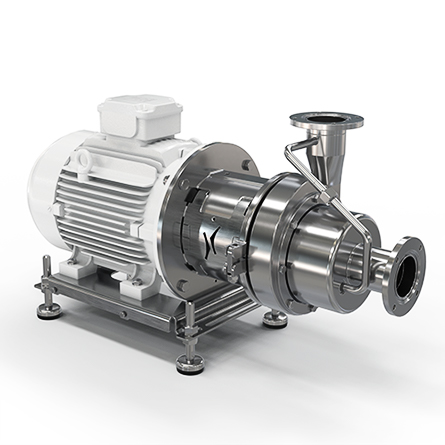 Hygienic centrifugal pump HSCP – single stage, self-priming